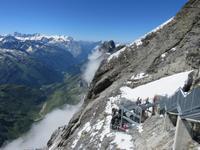 054 Engelberg - auf dem Titlis - Cliff Walk