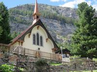 236 Zermatt -Alt-Zermatt - Englische Kirche