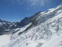 448 Fahrt auf das Jungfraujoch - Blick ins Eismeer