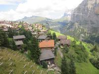 539 Ausflug zum Schilthorn - Blick nach Mürren