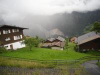 Fahrt mit der Wengernalpbahn nach Lauterbrunnen