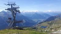 Bettmerhorn-Bergstation - Blick zur Bettmeralp