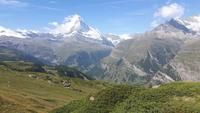 Zermatt (Rothorn - Wanderung auf dem