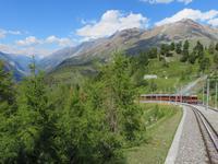 Zermatt - Fahrt auf den Gornergrat