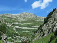 Oberwald - Blick zur Grimselpass-Straße