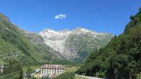0181 Gletsch und Blick zum Rhonegletscher