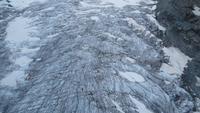 0402 Kleines Matterhorn - Blick über den Gletscher
