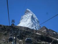 Vom Kleinen Matterhorn nach Zermatt