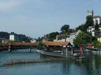 Das Nadelwehr und die Spreuerbrücke