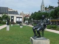 Im Skulpturenpark von Montreux