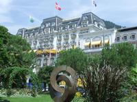 Montreux ist bekannt für die Luxushotels