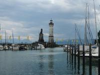 Hafeneinfahrt in Lindau