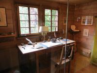 071 Im Museum in Saas Fee - Arbeitszimmer von Carl Zuckmeyer