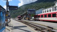 160 Ausflug nach Brig - Bahnhof