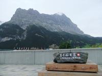 Blick von Grindelwald zum Eiger