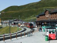 Der Bahnhof Kleine Scheidegg