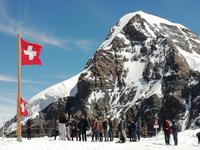Auf dem Jungfraujoch