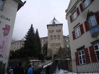 Spaziergang zur Kathedrale von Chur