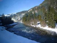Fahrt mit dem Glacier-Express (Rheinschlucht)