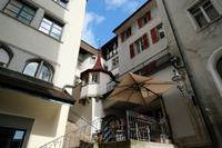 Verwinkelte Gässchen in Luzern