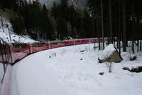 Der Bernina-Express in voller Größe