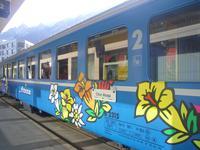Fahrt mit dem Arosa-Express