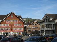 Am Landsgemeindeplatz in Appenzell