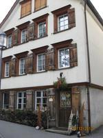 Bunte Hausfassaden in Appenzell