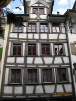 Fassadenschmuck in der Altstadt von Lichtensteig