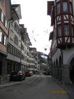 Zu Besuch in der Altstadt von Lichtensteig