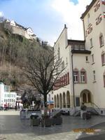 Das Rathaus von Vaduz