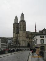 Das Münster von Zürich