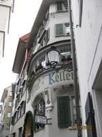 Entlang der Gassen durch Zürich
