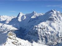 Schilthorn - Panorama zu Eiger Mönch und Jungfrau