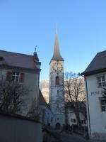 123 Stadtrundgang in Chur - in der Altstadt - St. Martins-Kirche