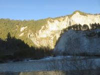 138 Fahrt mit der Rhätischen Bahn auf den Spuren des Glacier-Express - in der Rheinschlucht