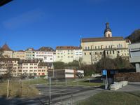 163 Fahrt mit der Arosabahn - Altsstadt Chur