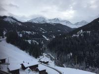 Fahrt von Chur nach Arosa, Langwieser Viadukt