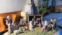 234 Büren an der Aare - Stedtliführung in der Kirche - Krippe