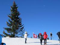 060 Silvester im Berner Oberland - Ausflug zum Jungfraujoch - auf dem Plateau