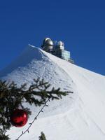 061 Silvester im Berner Oberland - Ausflug zum Jungfraujoch - auf dem Plateau - Blick zur Sphinx