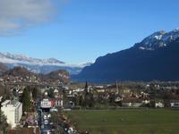 177 Silvester im Berner Oberland -  Interlaken - Blick über die Höhematte vom Hotel Metropol
