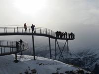 281 Silvester im Berner Oberland - Ausflug nach Grindelwald - auf dem First - Cliff Walk