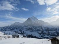 301 Silvester im Berner Oberland - Ausflug nach Grindelwald - auf dem First  -