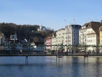 Luzern - Blick zum Gütsch