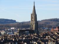 Bern - Blick zum Münster