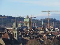 Bern - Blick zum Bundeshaus
