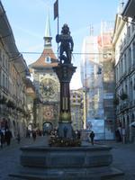 Bern - Hauptgasse mit Zytglogge-Turm