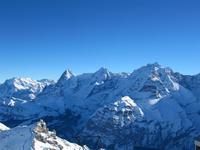 Auf dem Schilthorn-Eiger,Mönch und Jungfrau