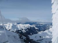 Ausflug Jungfraujoch - Blick von der Sphinx